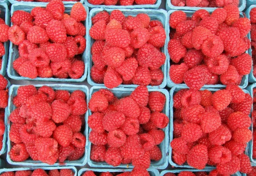 health food raspberries