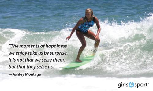 moments of happiness surfing water