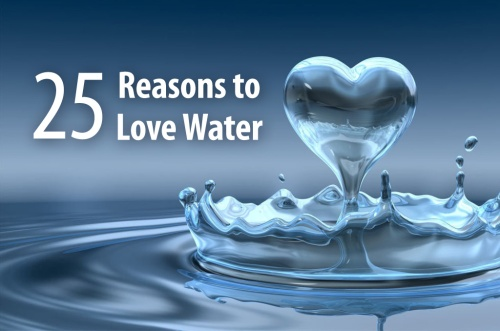 25 reasons to love water